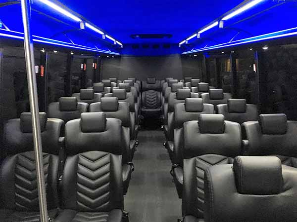 Limo bus rental for San Francisco and the Bay Area
