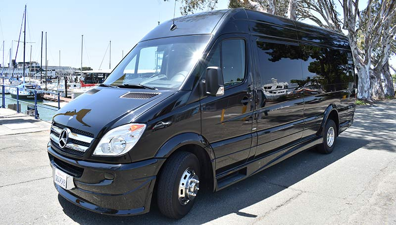 Mercedes Sprinter Van Shuttle Rental San Francisico and the Bay Area